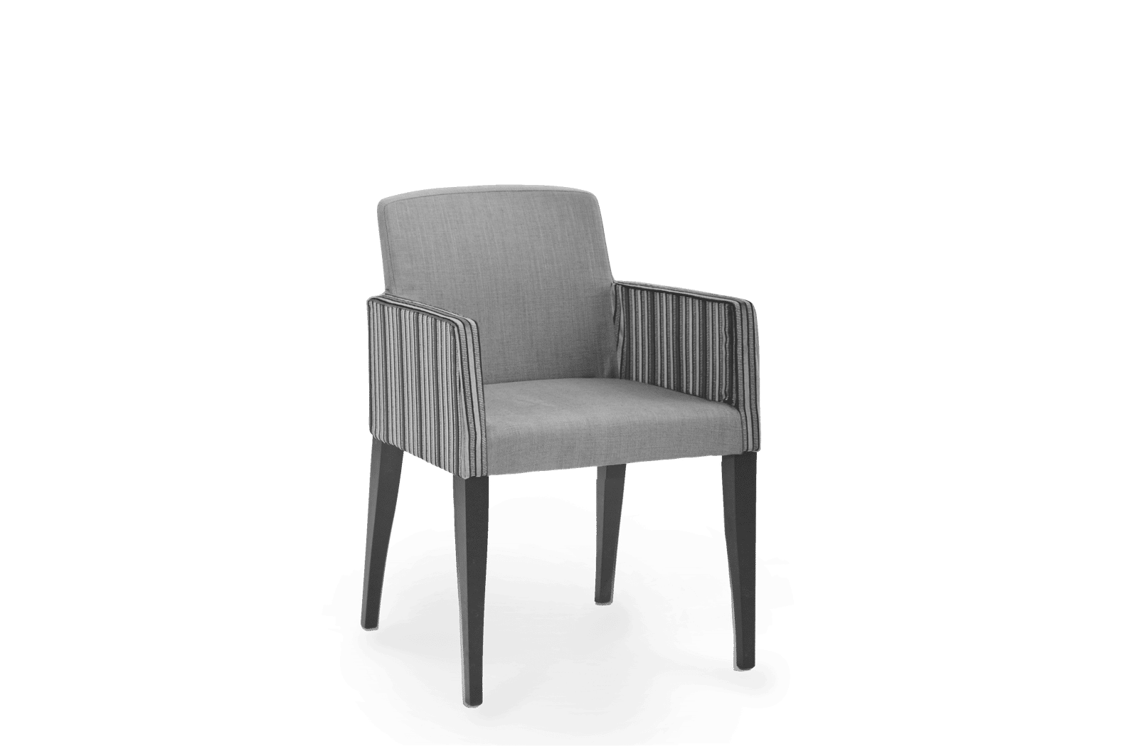 CH Eva Armchair Stained Eclipse Upholstered Two Tone copy