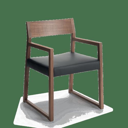 CH Linea Arm Chair Dark