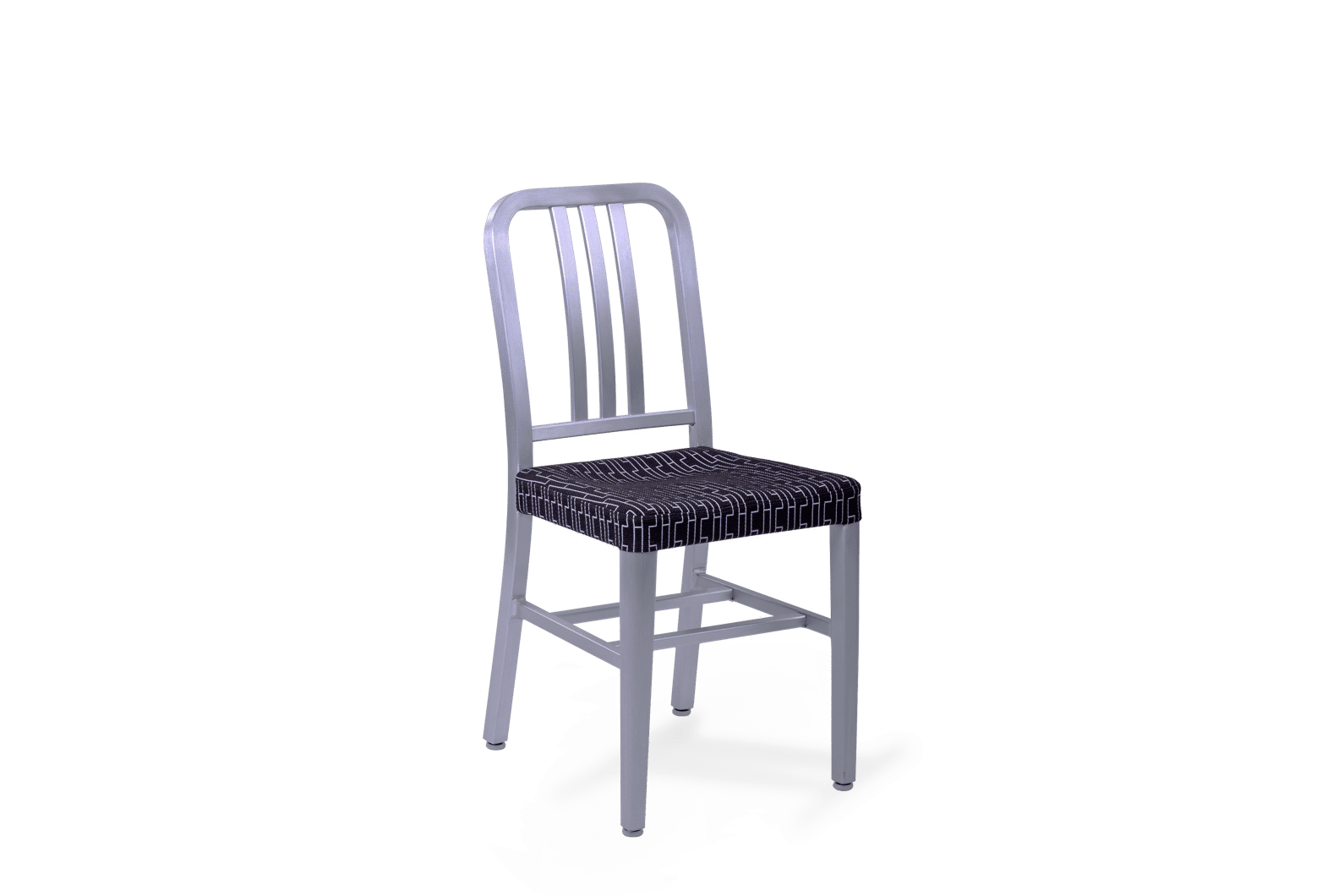 CH Navy Replica Chair Alu Upholstered