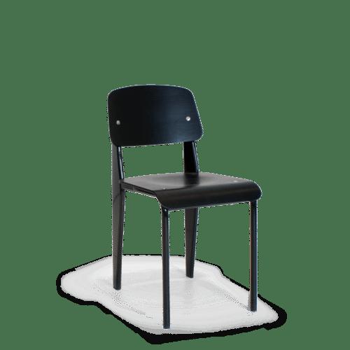 CH School Chair Black Ply