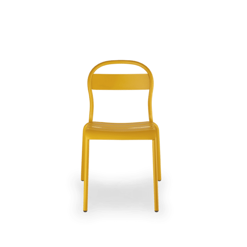 CH Stecca Chair yellow front