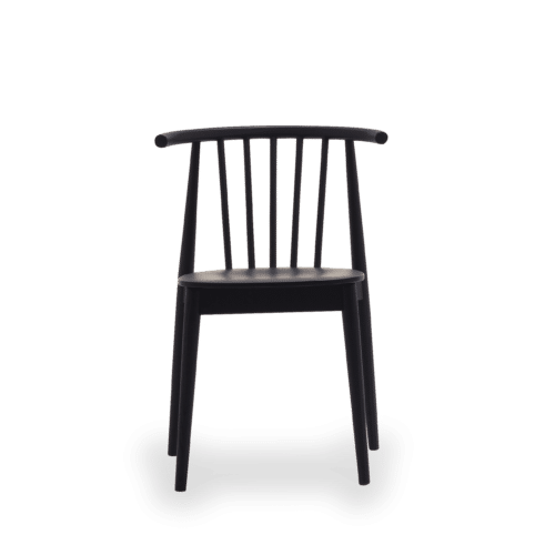 CH Tivoli chair black front