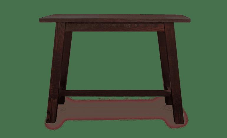 LE Norse Leaner Solid Timber Leaner Bar Leaner Rustic Leaner hospo