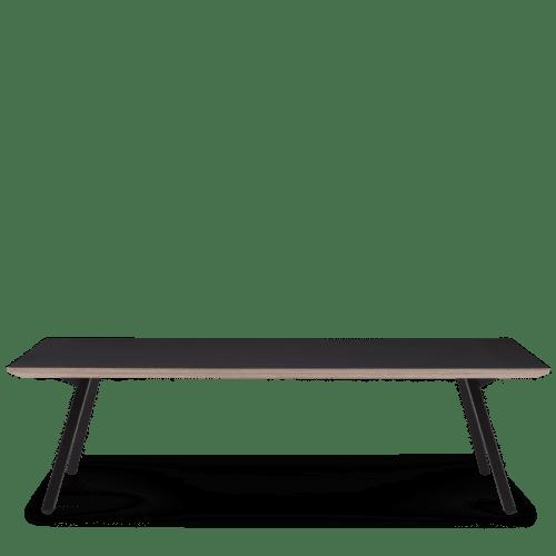 OC Poise Coffee Table Rectangle Black on Black