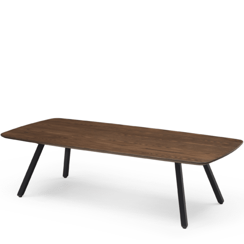 OC Poise Timber Coffee Table  x  x h Angled