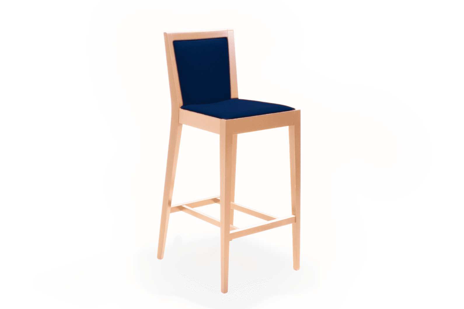 ST Bella Stool Stained Clear Dark Uphol copy