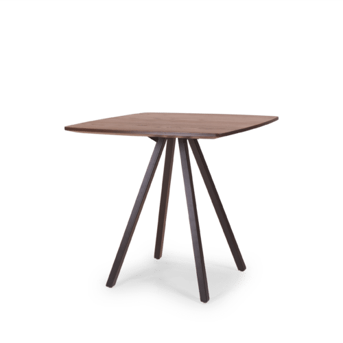 TB Poise Timber Table on black