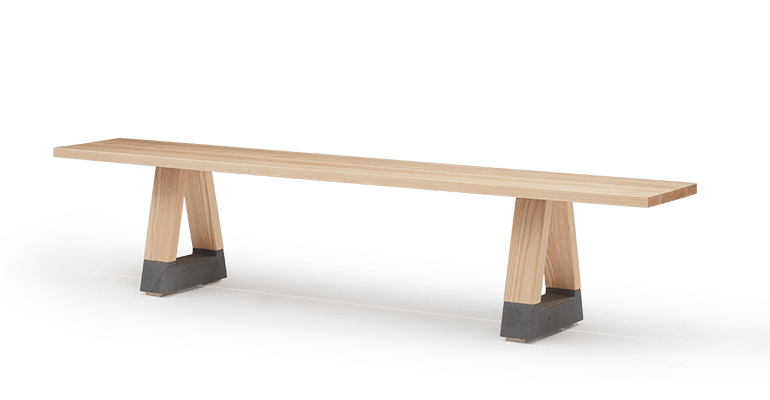 TB Slab Bench new
