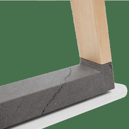 TB Slab Table Bluestone Detail