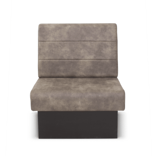 SS Solace Banquette Impression Rib Horizontal Rolled Edge