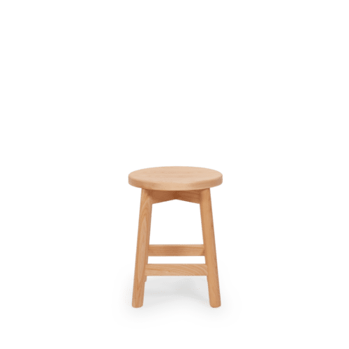 ST Mode Stool  stained clear front