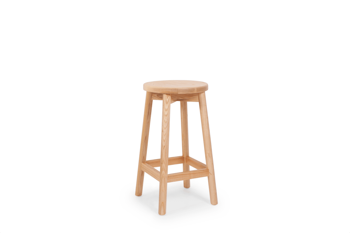 ST Mode Stool  stained clear
