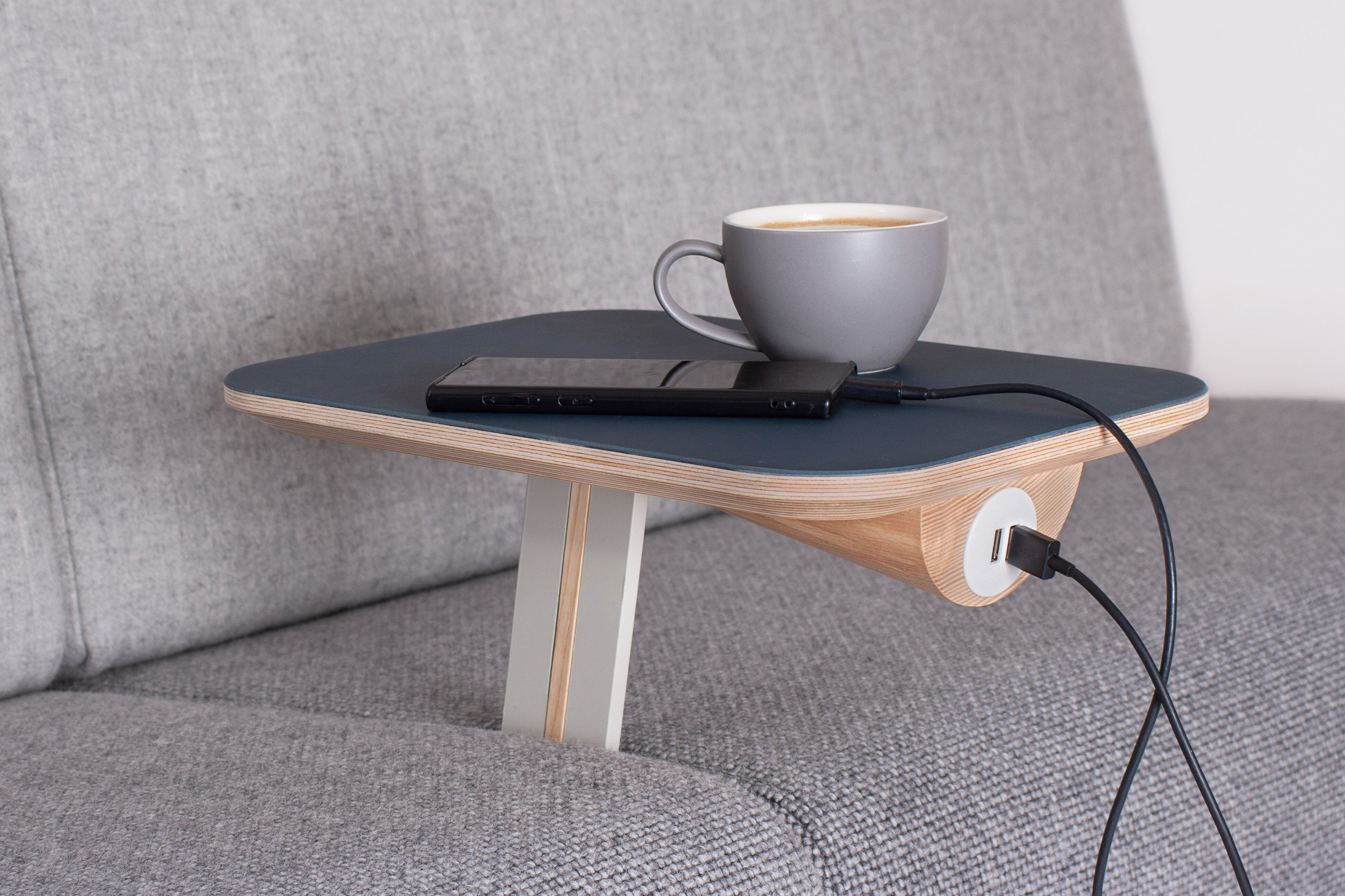 Banquette Pal coffee phone