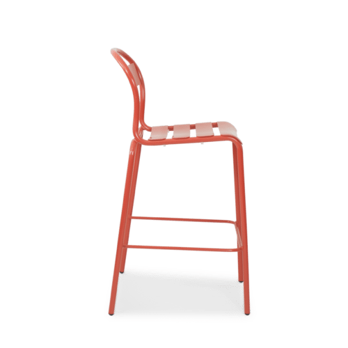 ST Stecca Stool red side