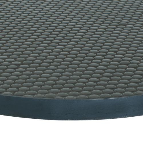 TT Motif Table Top penny round black