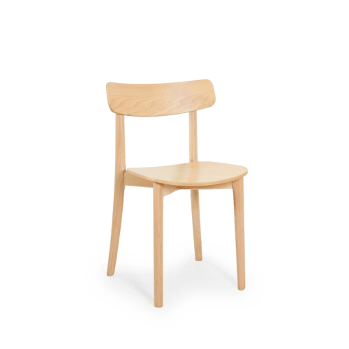 CH Babar Chair stained clear