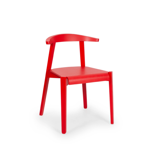 CH Cleo Chair painted red