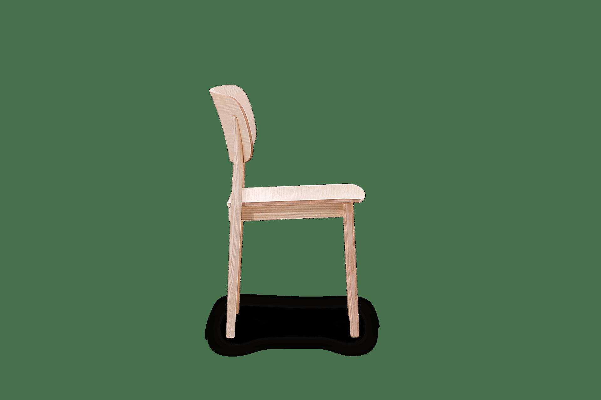 CH Grado Chair clear side