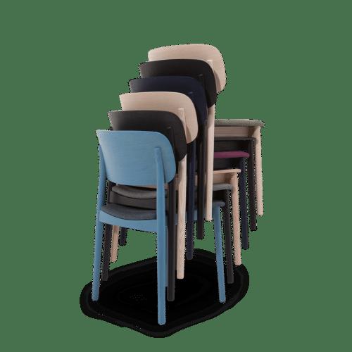 CH Grado Chair stackable