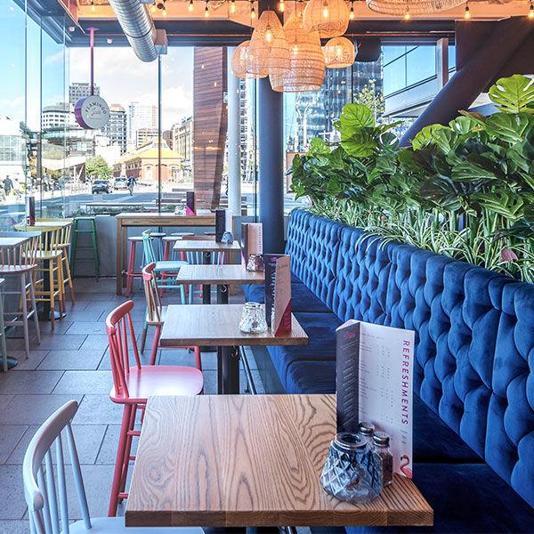 Flamingo Joes bar restaurant sitewide