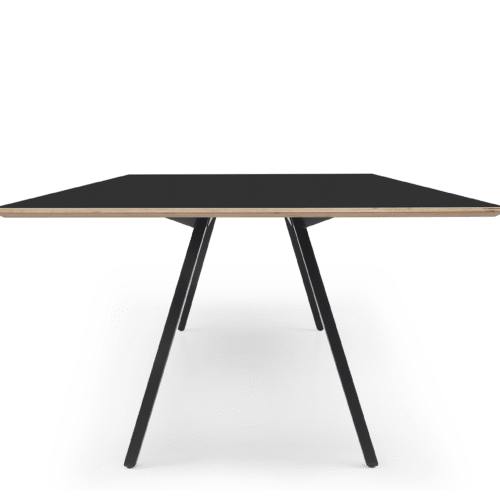 TB Poise Meeting Table Black Side End