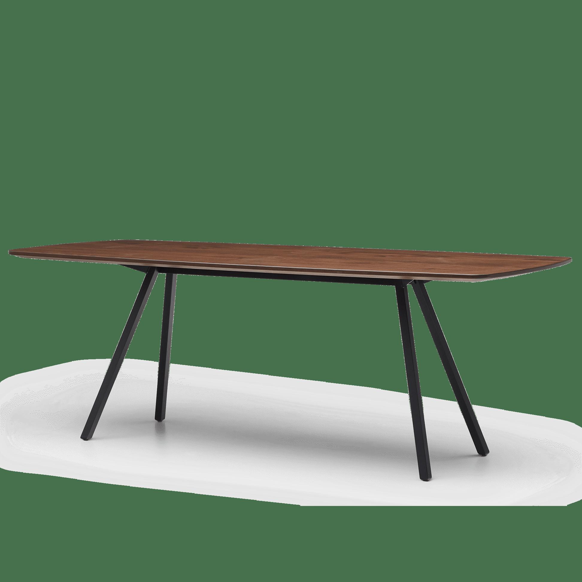 TB Poise Timber Meeting Table Smoke Angled web