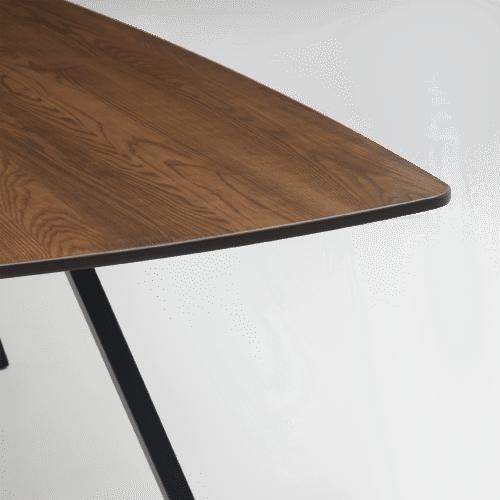 TB Poise Timber Table Smoke Detail