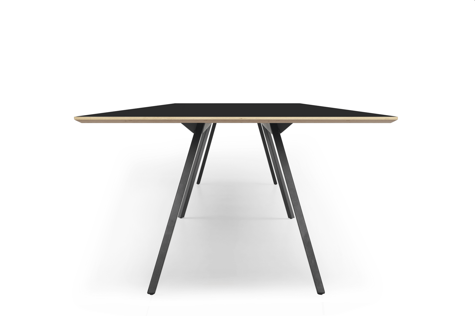 TB Poise Conference Table Black End