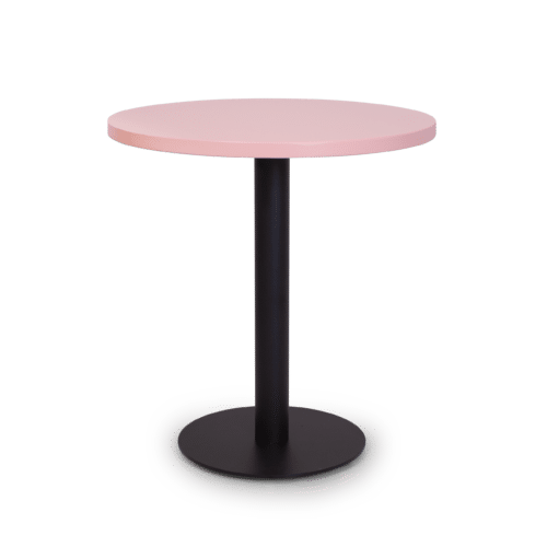 TB Chicago Top painted pink Plate Base