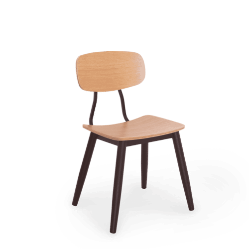 CH Reuben Chair Black with Ply