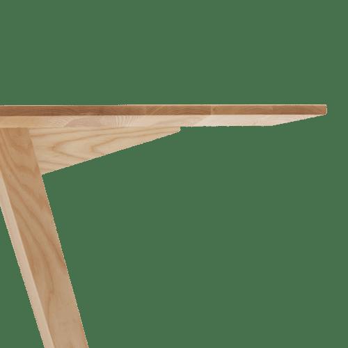 TB Ikon Table Clear Trestle Detail