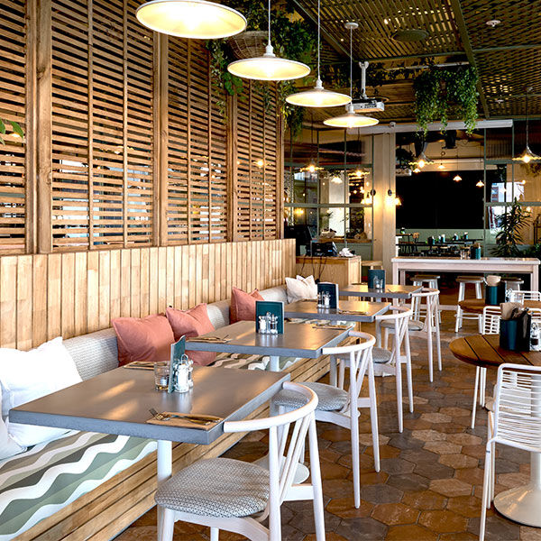Botany Commons restaurant sitewide