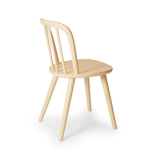 CH Chord Chair painted yellow back