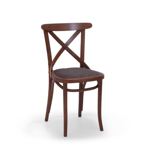 CH Crossback Chair Stained Maple Uphol