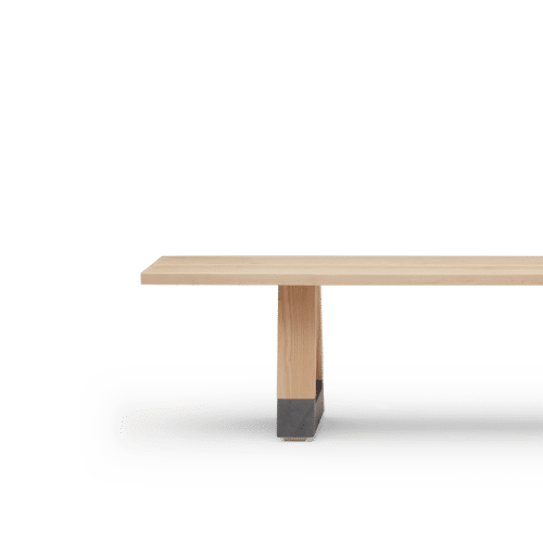 BS Slab Bench Seat Clear Side