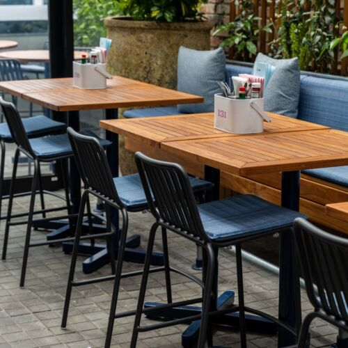 Rooftop dining at Something and Social, Newmarket