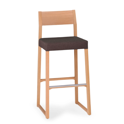 ST Linea Stool Stained Clear