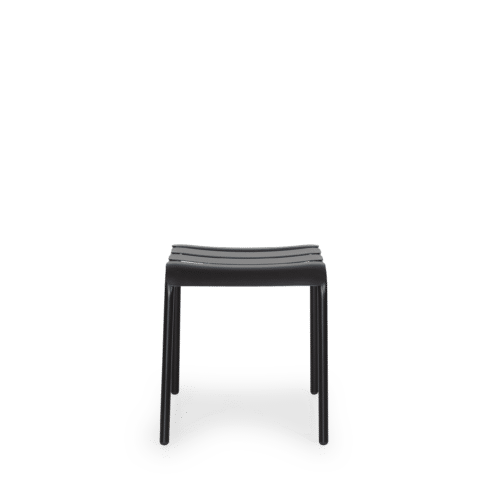 ST Stecca Stool  black front