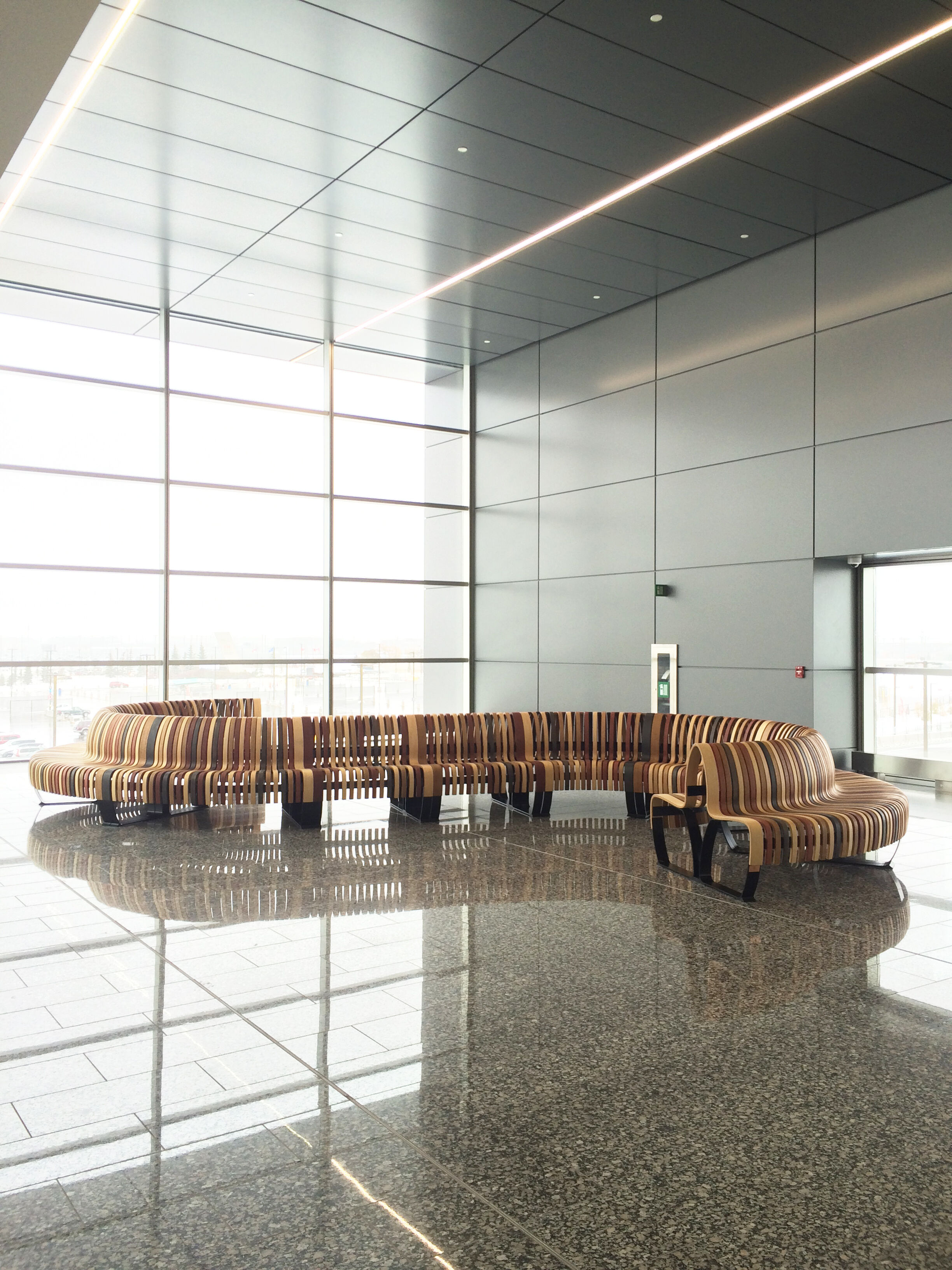Nova C Seating at Calgary Airport