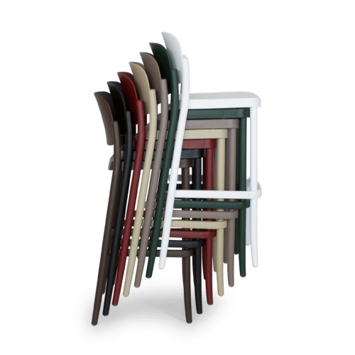 ST Piazza Stool stack side
