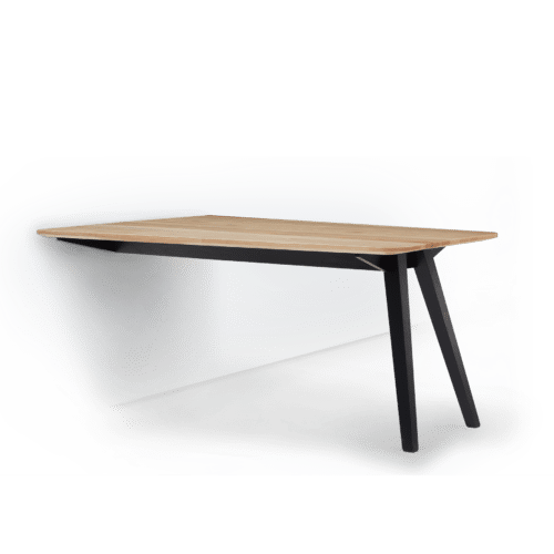 TB Ikon Collaborate Table Clear on Eclipse Angled with Wall  edit