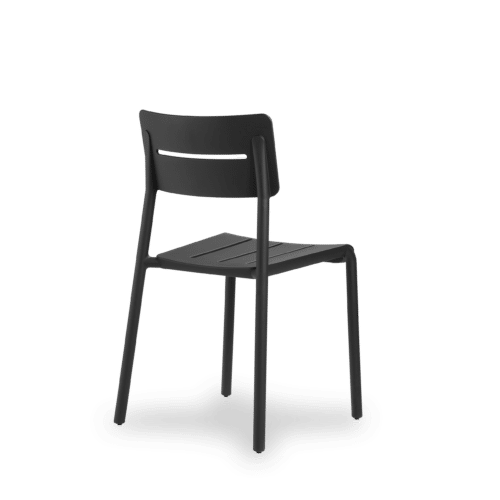 CH Outo Chair black angle