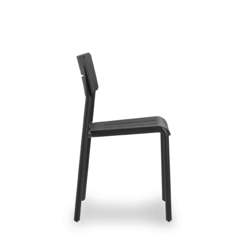 CH Outo Chair black side