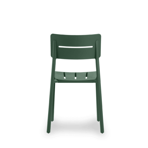 CH Outo Chair green back