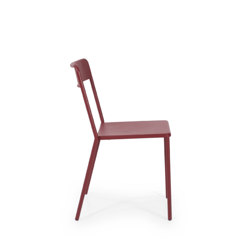 CH C Chair red side