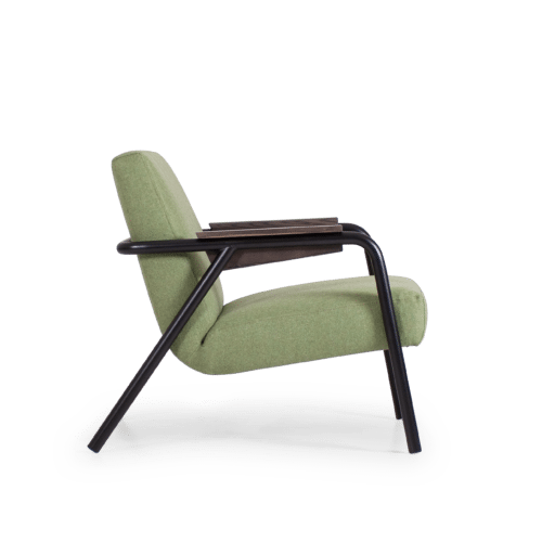 CH Lure Chair green black side
