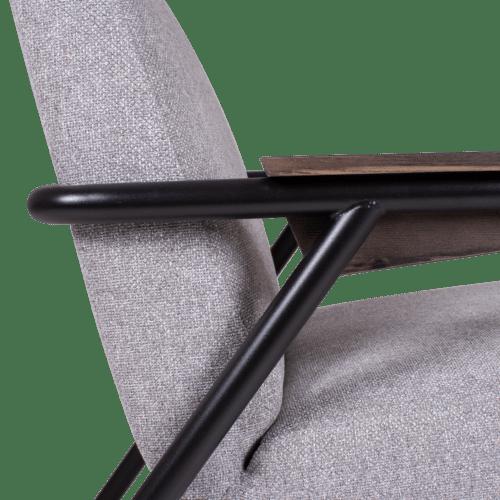 CH Lure Chair highback grey detail