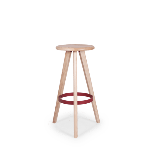 ST Trey Stool clear red ring