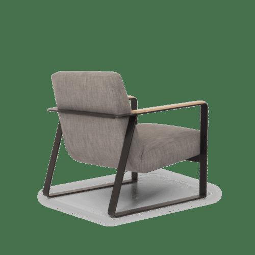 CH Plane Chair grey angle