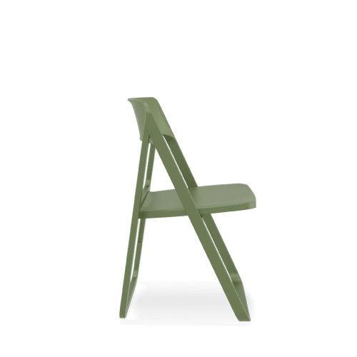 CH Dream Chair olive green side